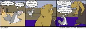 Furballed Comics: Squirrel Fu by twiggy-trace