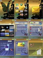 Sony Ericsson Fairies theme by ivanraposo