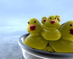 rubber Ducks by TheY3T1
