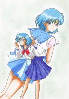 Sailor Mercury by Marynchan