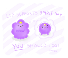 The LSP way of Spirit Day by Mannylinn