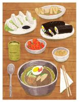 Korean Food by kuru731