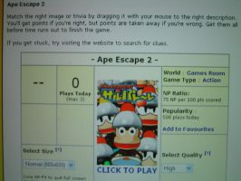 Ape Escape in Neopets? by PipoMadness1992
