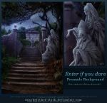 Enter if you dare - Free Premade Background by kuschelirmel-stock