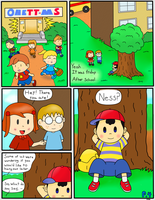 EarthBound: Ch.0 P.4 by TheOddityArtist