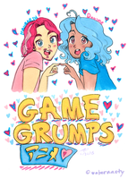 Anime Grumps by Strabius