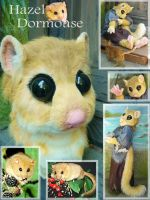 Hazel Dormouse closeup by LilleahWest