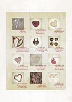 Twelve Thoughts About Hearts by rockgem