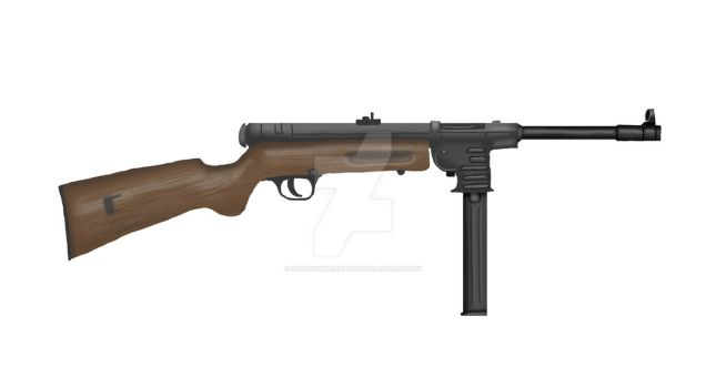 Schmeisser MP-41 SMG by stopsigndrawer81
