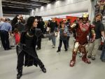 Loki VS Awesome Man of Iron by YazVolKanik