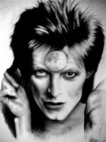 Bowie's in Space by SoftMachine09
