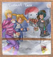 Snowball Fight :contest: by FrostedTea