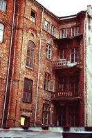 Warsaw 100 tenement house by remigiuszScout