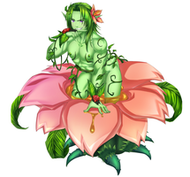 Monster Boy Encyclopedia #4: Alraune by SourShockX