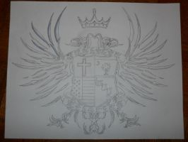 family crest tattoo by bigjbway23