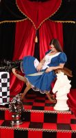 American McGee's Alice Throne Room 4 by ThePrincessNightmare