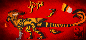 Adreo ref V.1 by Stitchy-Face
