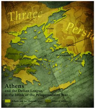 Civilization 5 Map: Athens by sukritact