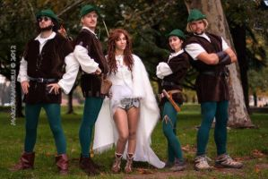 Robin Hood men in tights cosplay by ilPas