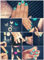 Nail ART Tutorial O3 by friabrisa