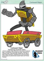 30 Character Challenge day 14- Cartsward Major by PlummyPress