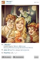 Selfie Fables | Peter Pan by SimonaBonafiniDA