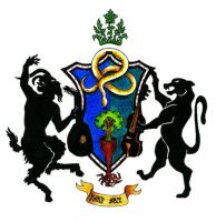 Coat of Arms of Bard Art Music Band by Joseph-Lazarus