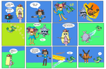 Snivy's First Trainer Returns - Pages 17 and 18 by GrayComputer