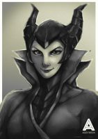 Maleficent by faruuk-sama