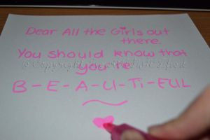 A message to all girls by HeartANGELfied