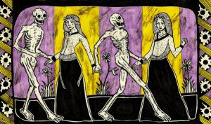 Danse Macabre by AllieHartley
