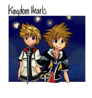 Kingdom Hearts by AnaP15