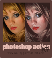 Adobe Photoshop Action 07 by worthyG