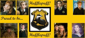 Proud to be Hufflepuff by Bronniii