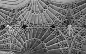 Ceiling. Bath Abbey by Xs9nake