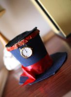 Clock Hat by Charmed-Ravenclaw