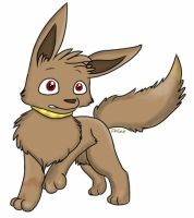 Ace as an Eevee by Angiebutt