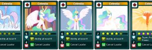 My Little Rivals: Urban is Magic. Celestia by LhasaApso