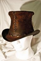 Rawhide Top Hat by Adhras