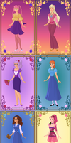Tiny Toon Heroines and Villinesses by KessieLou