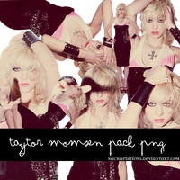 Taylor Momsen Pack PNG by NachaEditions