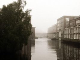 Foggy day at the old Factory by PurpleScarecrow