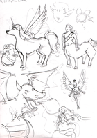 7. Mythical Creatures by matilda-caboose