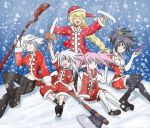 Christmas with Symphonia girls...and Genis by Trinityinyang