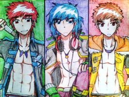 My OC Seme's by catnappe143