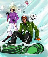 Kenpachi Snowboard Fail by acidic-fire