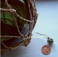 1:12th scale fishing float by buttercupminiatures