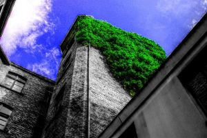 green tower by ekkikind