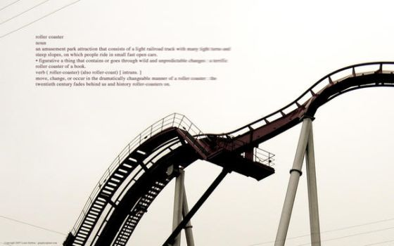 Roller Coaster noun by lharboe