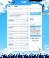 Adhere Announcement Web Site by cmgllp